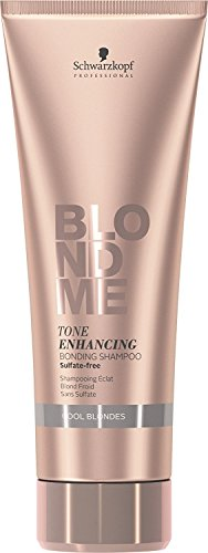 BLONDME Tone Enhancing Bonding Shampoo for Cool Blondes, 8.45-Ounce