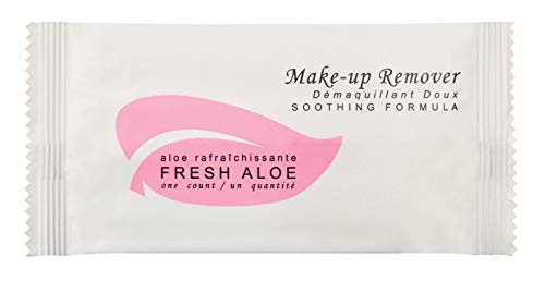 Fresh Aloe Make-up Remover Wipe for AirBnB, VRBO, Vacation Rental (Case of 100)