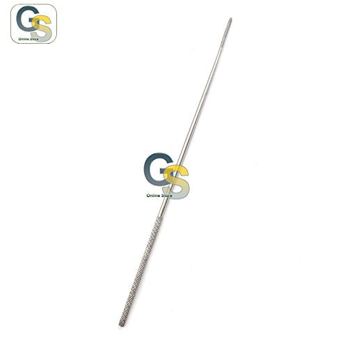 "G.S UEBE Cotton APPLICATOR 7"" Serrated Triangular TIP 