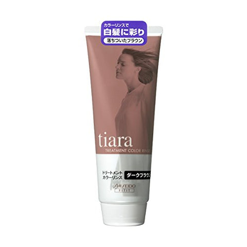 Tiara Tiara treatment color rinse dark brown 220g