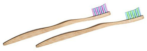 Woobamboo Kids Super Soft Eco-Friendly Biodegradable Bamboo Toothbrush - by WooBamboo