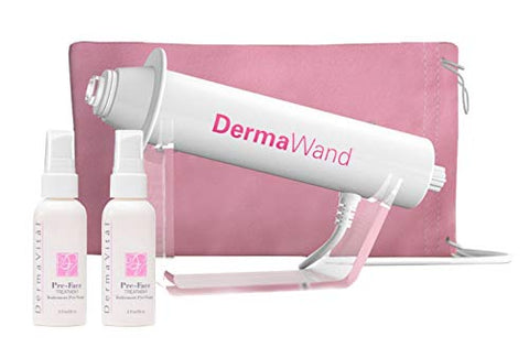 Derma Wand Spanish Language Kit With 1 Preface Treatment   Reduces Wrinkles