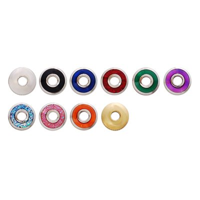 Hanako Scissor Parts: 10ã? Dial Plate Color Nut Set Of 10