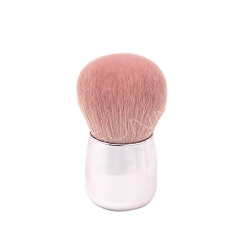 Beaupretty Round Cosmetic Makeup Brushes Mushroom Head Soft Fluffy Loose Mineral Foundation Powder Blush Brush Makeup Tools for Ladies Women