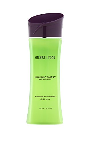 Michael Todd Peppermint Wake Up Energizing Daily Body Wash, 10.1 Fl Oz