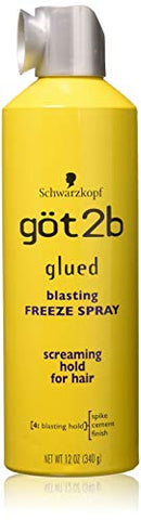 got2b Glued Blasting Freeze Spray 12 oz (Pack of 3)