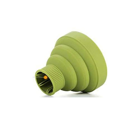 SONGLIN Green Hair Dryer Diffuser Universal Fan Dryer Cover Hair Salon Curly Hair Dryer Folding Diffuser Cover Hair Accessory