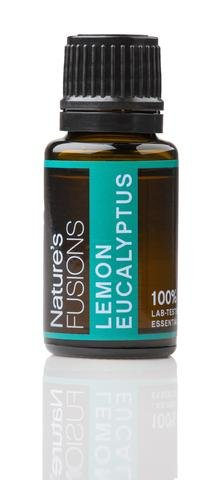 Nature's Fusions   Lemon Eucalyptus Pure Essential Oil   15m L