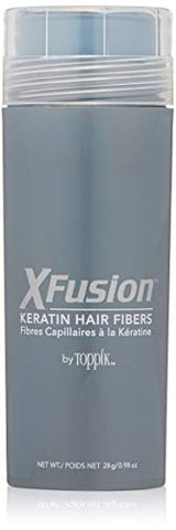XFusion Keratin Hair Fibers, Dark Brown, Economy Size, 28 Gram