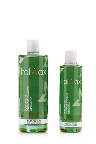 Italwax After Wax Oil Mint 500ml 16.9oz