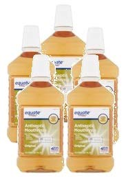 Equate Original Antiseptic Mouthrinse, 50.7 fl oz (Pack of 5)
