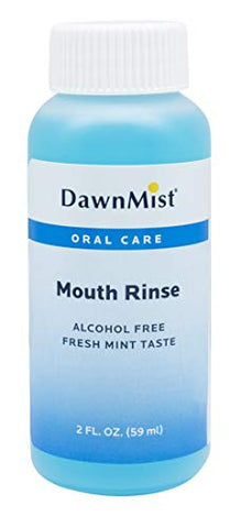 Dukal Mouth Rinse. Case of 144 Mouthwashes 2 oz. Mint Mouth Rinse for Oral Hygiene. Alcohol-Free. Oral Rinse with Fresh Mint Flavor. Travel Size Twist Cap Bottles.