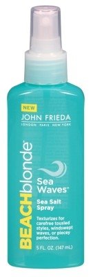 John Frieda Beach Blonde Sea Salt Spray 5 Ounce (Sea Waves) (145ml) (2 Pack)