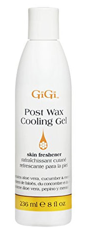 Gi Gi Post Wax Cooling Gel   After Wax Skin Freshener, 8 Oz