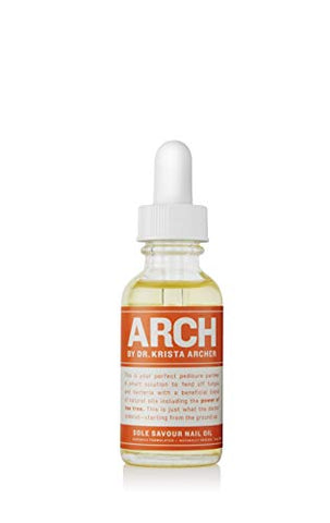 ARCH Sole Savour Nail Oil - Natural, Paraben Free Oil That Nourishes Nails, Cuticles and Fends Off Fungus