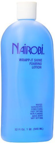Nairobi Wrapp It Shine Foaming Lotion, 32.0 Fluid Ounce by Nairobi