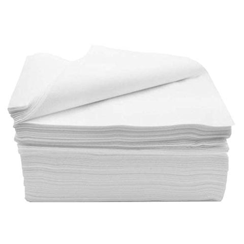 Sheets Pack of 40 Disposable Fitted Massage Table Heavy Duty White Elastic Bed, Perfect for Doctors' Offices, Spas, and Portable Massage Tables