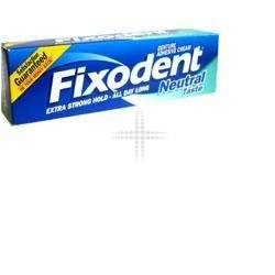 Fixodent Denture Adhesive Cream - Neutral Taste