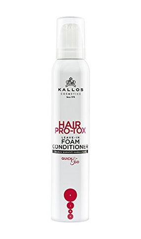 KALLOS HAIR PRO-TOX LEAVE-IN FOAM CONDITIONER 200ml