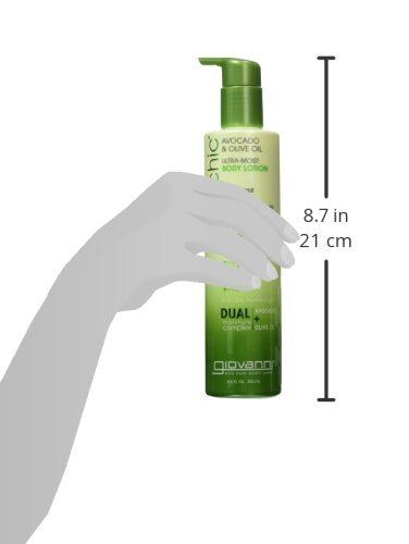 Giovanni Creamy Avocado & Olive Oil Body Lotion   2chic Ultra Moist Hydrating Lightweight Moisturize