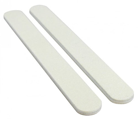 Jaylie TM White 100/100 Professional Nail File 12 Pack