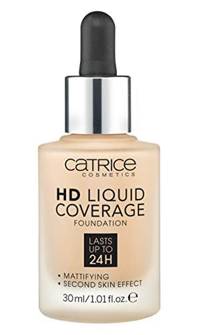 Catrice | Hd Liquid Coverage Foundation | High & Natural Coverage | Vegan & Cruelty Free (030 | Sand