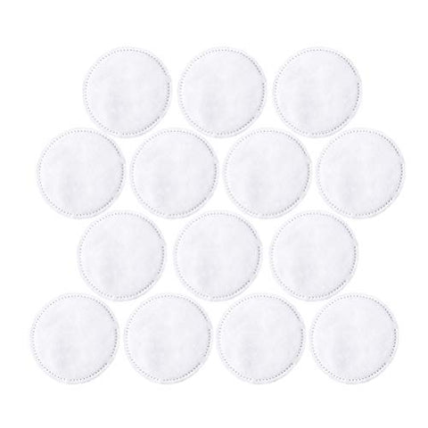 Lurrose Makeup Remover Pads Reusable Soft Three Layer Facial and Skin Care Wash Pads 300 Pcs
