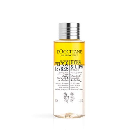 L'Occitane Eyes & Lips Makeup Remover, 3.3 Fl Oz