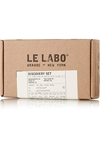 Le Labo Discovery Set Santal 33, Rose 31, Bergamote 22, Neroli 36 & The Noir 29 Sampler - .05 oz. Each