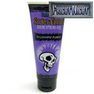 Fright Night Spike & Color Pallbearer Purple Spiking Gel for Temporary Coloring of Hair (3.38 fl. oz.)