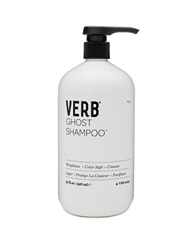 Verb Ghost Shampoo   Weightless + Color Safe + Cleanse 32oz