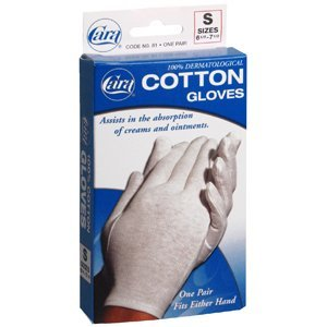 Glove CARA Cotton Ladies 81 Small CARA Incorporated