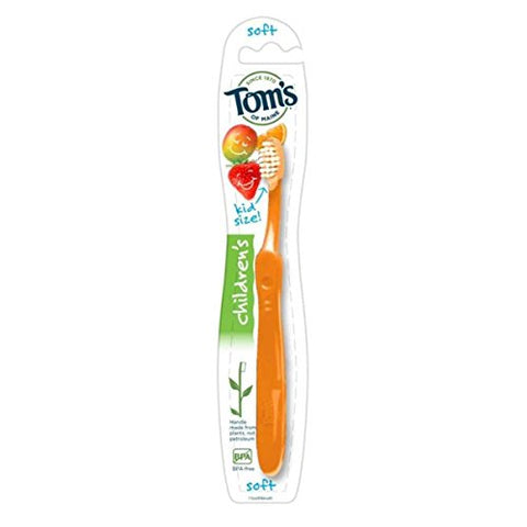 Tom's Of Maine Toothbrsh Kid Soft Angle 1 Ea (Pack Of 6)