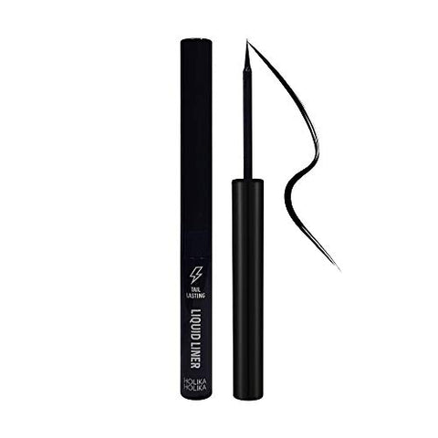 Holika Holika Tail Lasting Liquid Liner (01 Matte Black) 0.07oz/2g