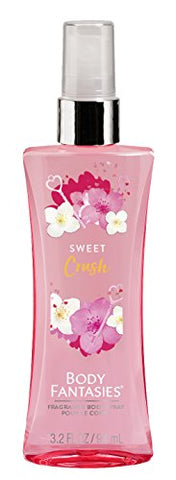 Body Fantasies (1) Bottle Fragrance Body Spray - Sweet Crush Scent - 3.2 fl oz
