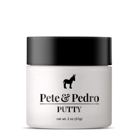 Pete And Pedro Putty   Hair Putty For Men With Strong Hold And Matte Finish {Featured On Shark Tank!