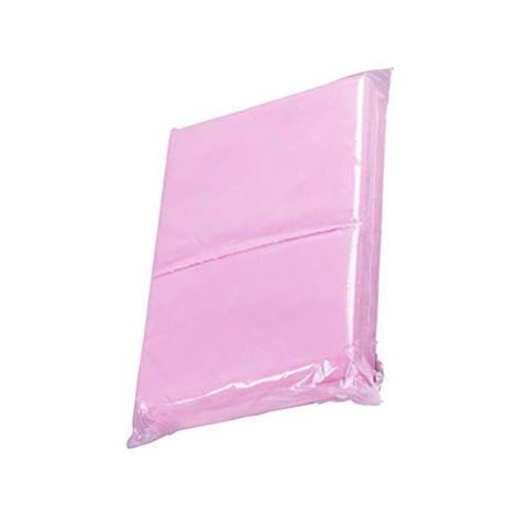 Exceart 10 PCS Disposable Non Woven Bed Sheet Mattress Protector SPA Massage Bed Sheets Cover Salon Sheet Bedding Supplies Pink