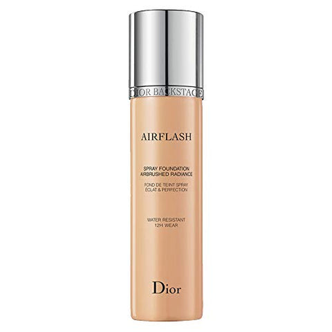 Dior Backstage Airflash Spray Foundation 301 Sand (Light to Medium: Warm Yellow Undertone)