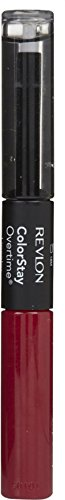 Revlon ColorStay Overtime Liquid Lip Color, Non-Stop Cherry [010] 0.07 oz (Pack of 4)
