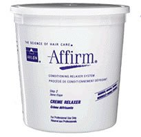 Avlon Affirm Conditioning Creme Unisex Relaxer, 4 Pounds