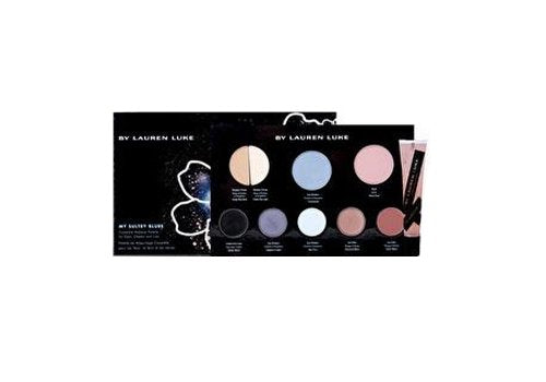 Lauren Luke Lauren Luke Full Face Makeup Palette and My Glossy Lips, Ll801-03 My Sultry Blues, 11.4 Ounce