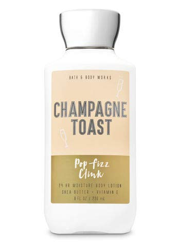 Bath and Body Works CHAMPAGNE TOAST New Daily Trio Gift Kit Body Lotion - Fine Fragrance Mist and Shower Gel - Full Size