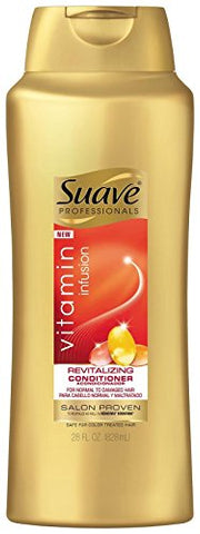 Suave Professionals Revitalizing Conditioner Vitamin Infusion, 28 Ounce