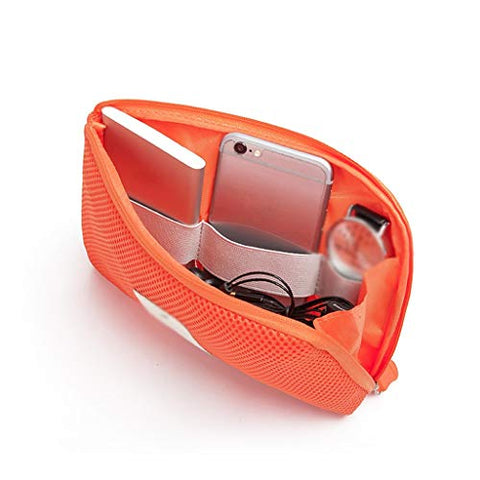 Storage Bag Travel, Business Trip, Must-have Seaside Holiday, Summer Camp, Travel Goods (Color : Orange)