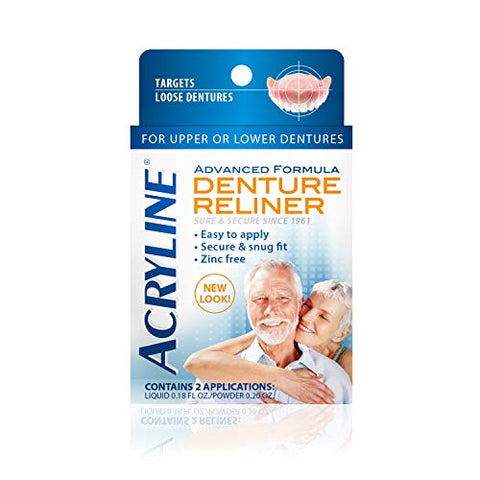 Acryline Advanced Formula Denture Reliner