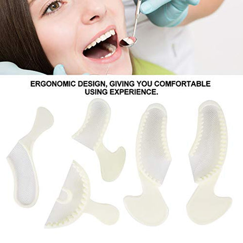 Teeth Support Trays,5pcs Teeth Dental Trays Central Denture Dentist Oral Care Teeth Support Tools
