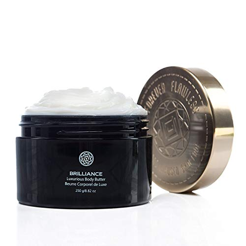 Forever Flawless BRILLIANCE - Diamond Body Butter for Silky Smooth Skin Improve Skin Smoothness and Rejuvenate with Anti Aging Care FF84, (8.82 oz)