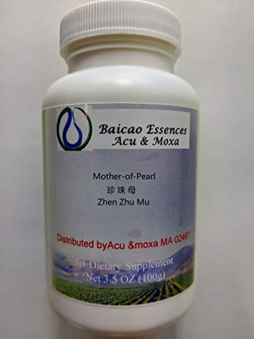 Mother-of-Pearl Zhen Zhu Mu Concentrated Granules 100g by Baicao
