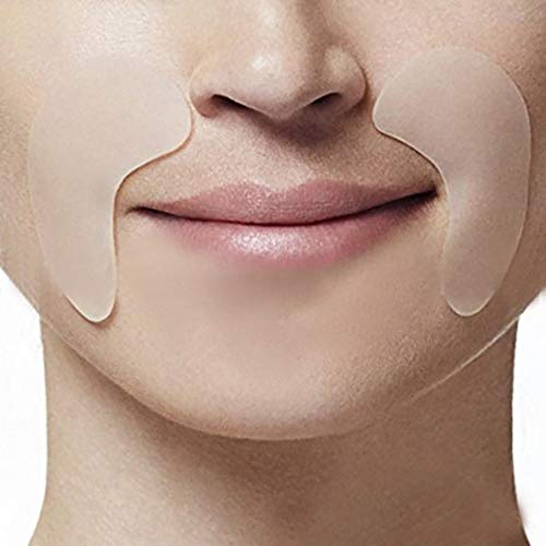 Silicone Anti-aging Face Pad Skin Care Reusable Prevent Wrinkle for Forehead Eye 5pcs/set