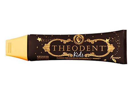 Theodent Kids With Rennouã'â®: Whitening Chocolate Chip   Fluoride Free Toothpaste Rebuilds, Hardens